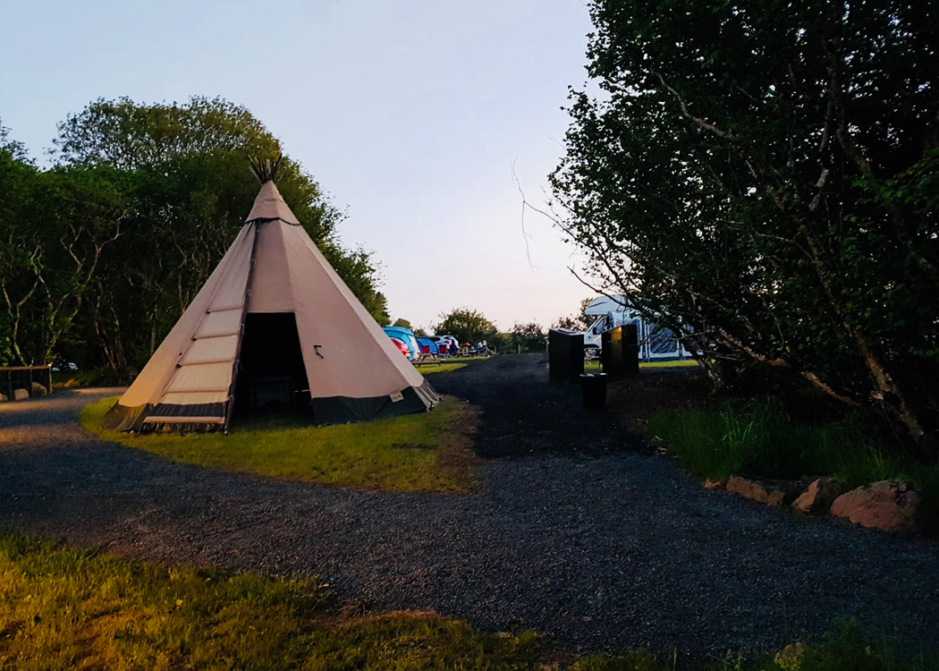 A guide to camping & caravan parks - Discover Northern Ireland
